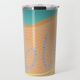Sweet Italy Beach Umbrellas - Aerial Italian Travel Mug