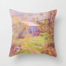 Memories of the Farm Throw Pillow
