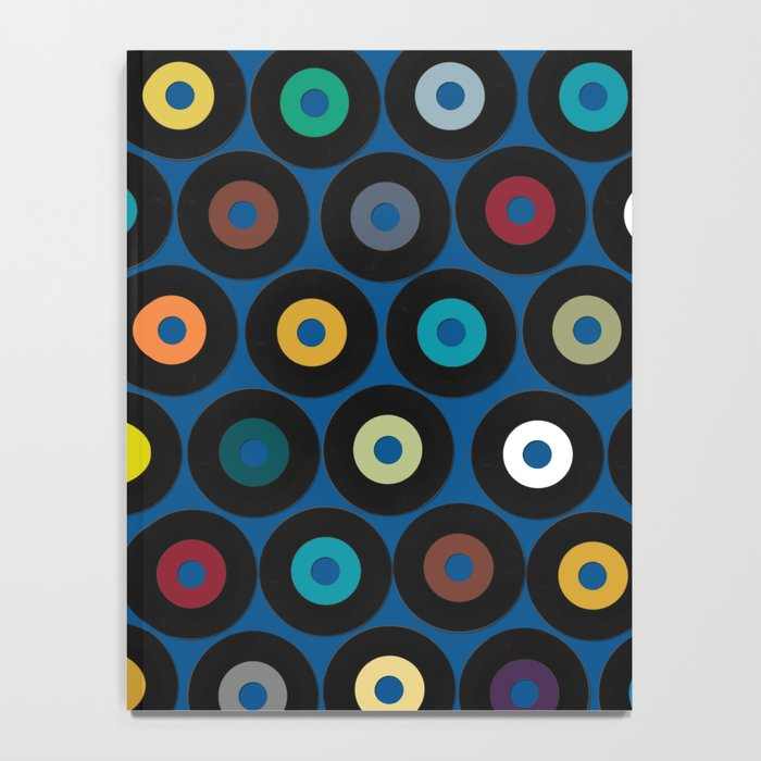 VINYL blue Notebook