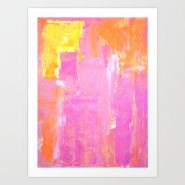 Cornered Art Print