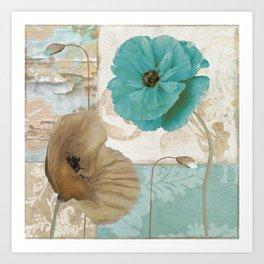 Beach Poppies IV Art Print