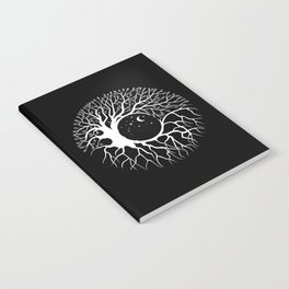 Tree of life, circular continuity Notebook