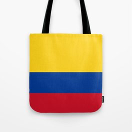 Flag of Colombia-Colombian,Bogota,Medellin,Marquez,america,south america,tropical,latine america Tote Bag