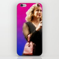 river song iPhone & iPod Skins featuring Doctor Song by Taylor Bookout