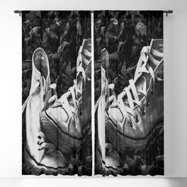 Abandoned Converse Blackout Curtain