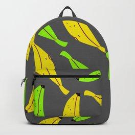 Ripe and Unripe Banana Pattern Backpack