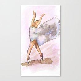 Free dance Canvas Print
