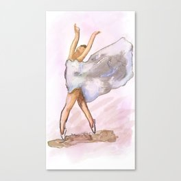 Free dance Canvas Print