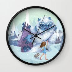 The Monstrous Mountains Wall Clock