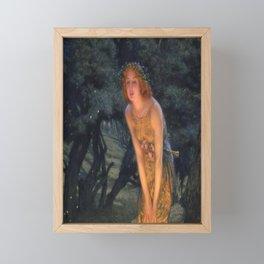 Midsummer Eve by Edward Robert Hughes  Framed Mini Art Print