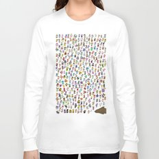 Animal Crossing New Leaf All Villagers Long Sleeve T-shirt