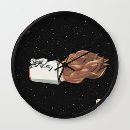 Space Latte Wall Clock