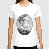 alex turner T-shirts featuring Alex Turner Drawing by annelise johnson