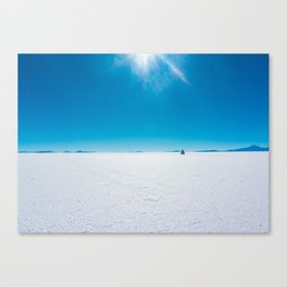 In the Distance, Salar de Uyuni, Bolivia Salt Flats Canvas Print