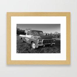 Mark's Mellon Patch Framed Art Print