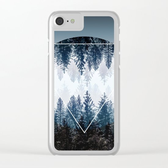 Woods 4 Clear iPhone Case