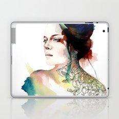 blossoming tattoos Laptop & iPad Skin