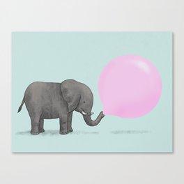 Jumbo Bubble Canvas Print