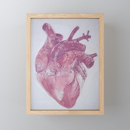 heart almost complete Framed Mini Art Print