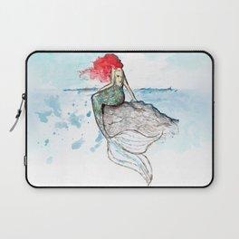 Mermaid - watercolor version Laptop Sleeve