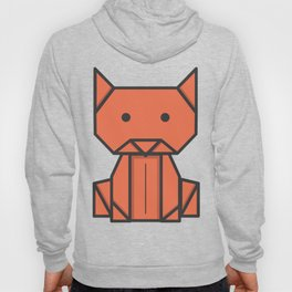 Origami Cat Hoody