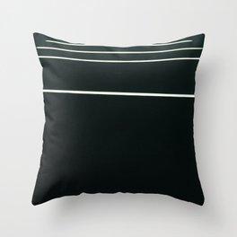 Lighty Lines Throw Pillow