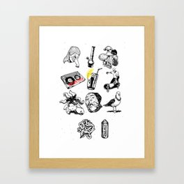 AllART17 Framed Art Print