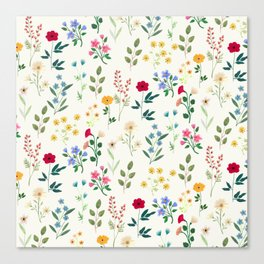 Spring Botanicals Canvas Print