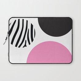 Pink zebra Laptop Sleeve