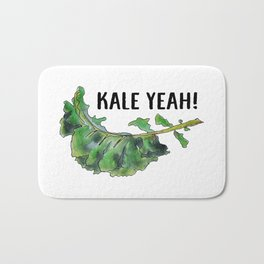 Kale Yeah! Bath Mat