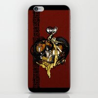 """tyrion iPhone & iPod Skins featuring Reverse roleplay: Of Shadow and Gold by Barbora """"Mad Alice"""" Urbankova"""