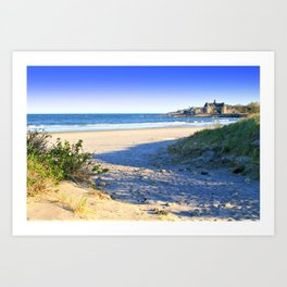 The Towers - Narragansett Town Beach, Rhode Island Art Print