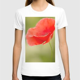 Miss you so much Red Poppy #decor #society6 T-shirt