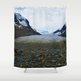 Columbia Icefields in Jasper National Park, Canada Shower Curtain