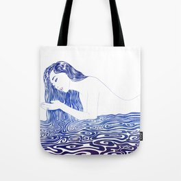 Water Nymph XXII Tote Bag