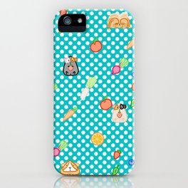 Guinea pigs & veggies iPhone Case