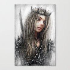 Dark Crown Canvas Print