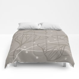 Ginkgo Truffle Comforters