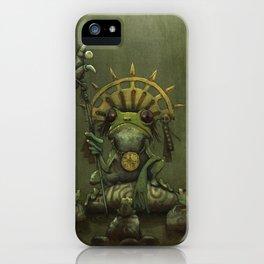 Leptopelis Uluguriensis iPhone Case