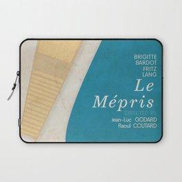 Contempt, Le Mépris, Jean-Luc Godard, Fritz Lang, Brigitte Bardot, french film, new wave, vague Laptop Sleeve