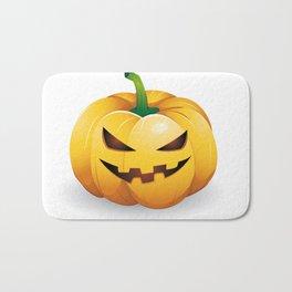 pumpkin head Bath Mat