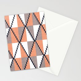 Cane in Orange Stationery Cards