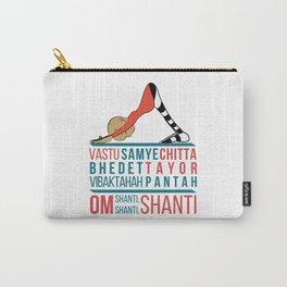 Om Yoga Mantra Vastu Samye Chitta Carry-All Pouch