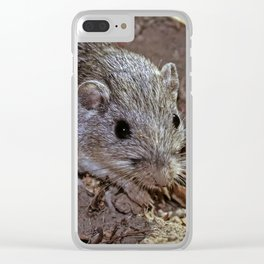 Pocket mouse Clear iPhone Case