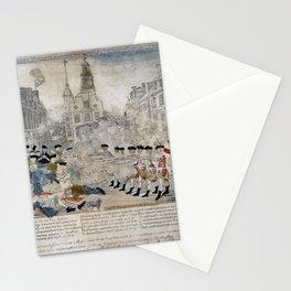 Original Boston Massacre Stationery Cards