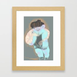 igor igor funny little man Framed Art Print
