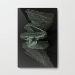 Blue veil Metal Print