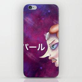 galactic crystal warrior iPhone Skin