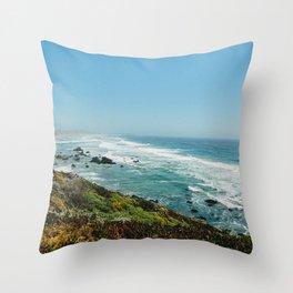 Jenner, California Throw Pillow