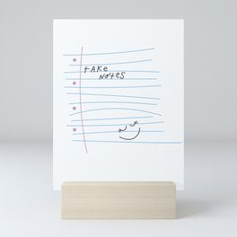 sassy scribble Mini Art Print